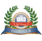 FamilySearch Indexing indexer badge